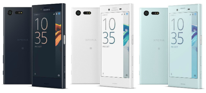 Sony Xperia X Compact Цвета