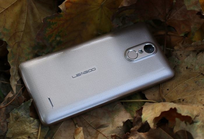 Сканер отпечатков пальцев Leagoo M5