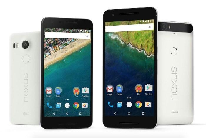 Nexus 6P и Nexus 5X