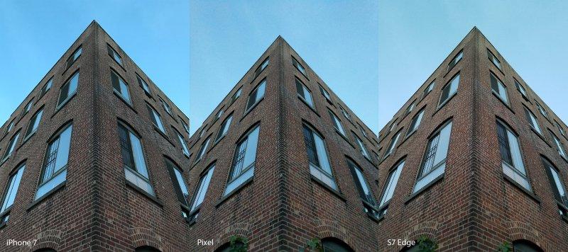 Google Pixel, Samsung Galaxy S7 и iPhone 7: сравнение камер
