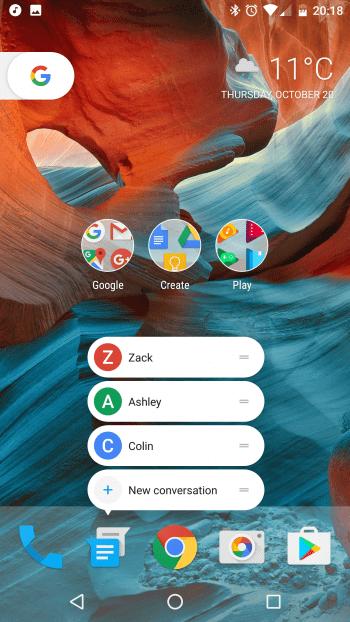 Обзор Pixel Launcher