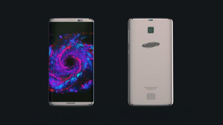 Рендер Galaxy S8