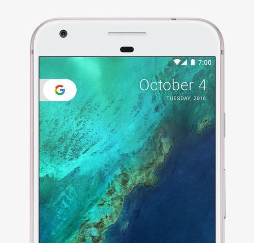 Google Pixel XL фронтальная камера