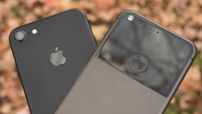 Google Pixel vs iPhone 7