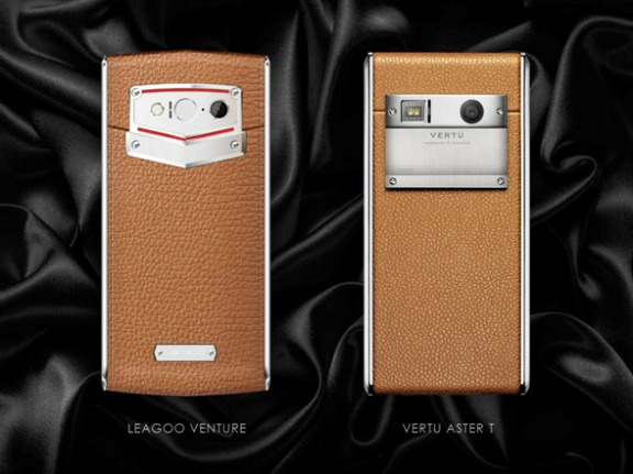 Leagoo Venture против Vertu Aster T