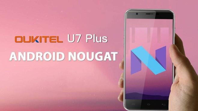 Oukitel U7 Plus с Android 7.0 Nougat