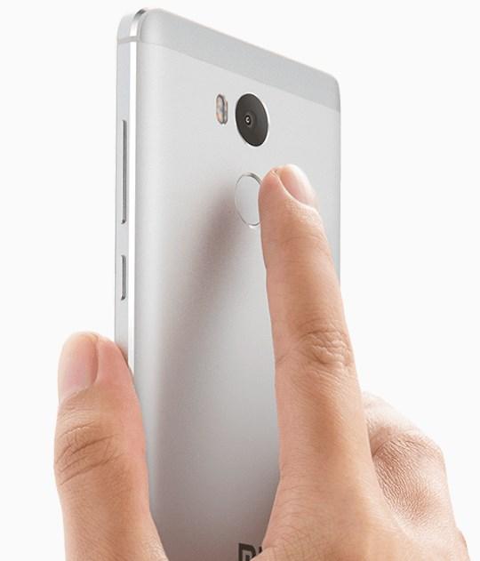 Xiaomi Redmi 4 сканер отпечатков пальцев