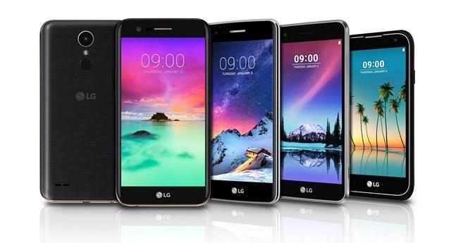 LG K10, K8, K4, K3