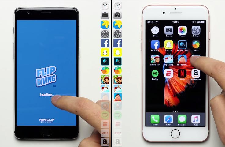 OnePlus 3T vs Apple iPhone 7 Plus