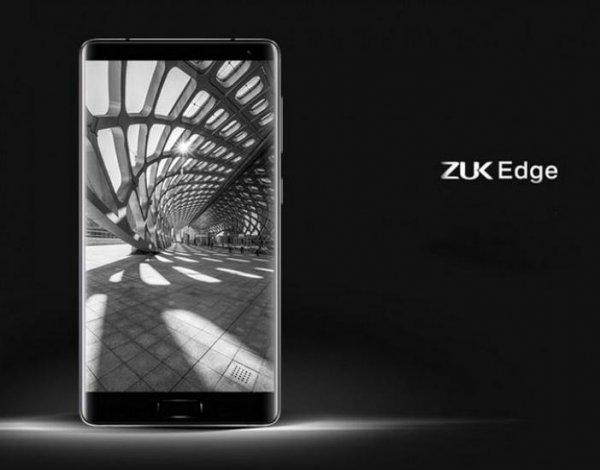 Lenovo представила безрамочный флагманский смартфон ZUK Edge