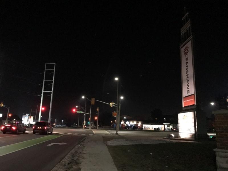 Ночное фото на iPhone 7