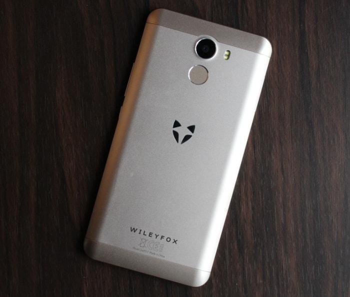 Задняя часть Wileyfox Swift 2