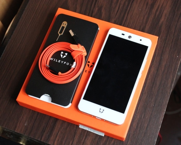 Комплектация Wileyfox Swift 2