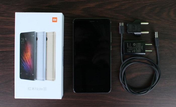 Комплектация Xiaomi Redmi Note 4