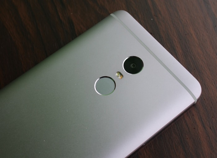 Сканер отпечатков Redmi Note 4
