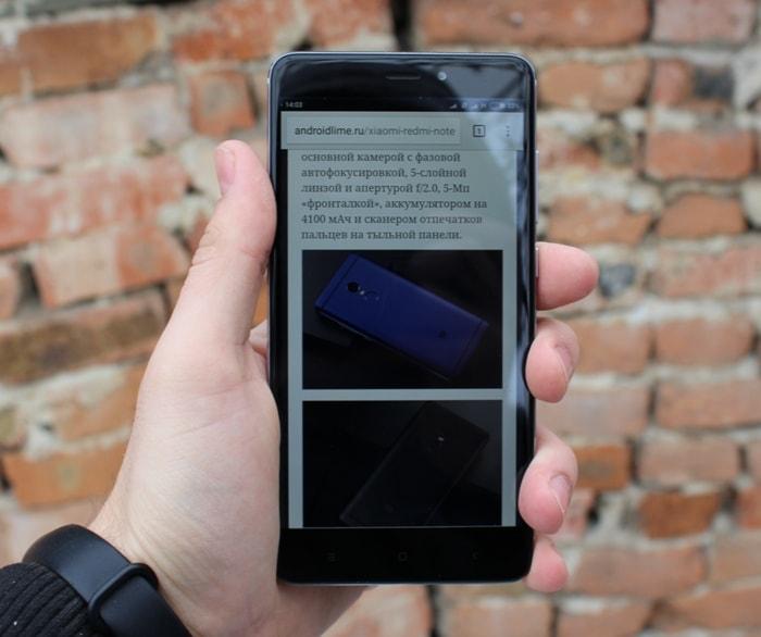 Дисплей Xiaomi Redmi Note 4