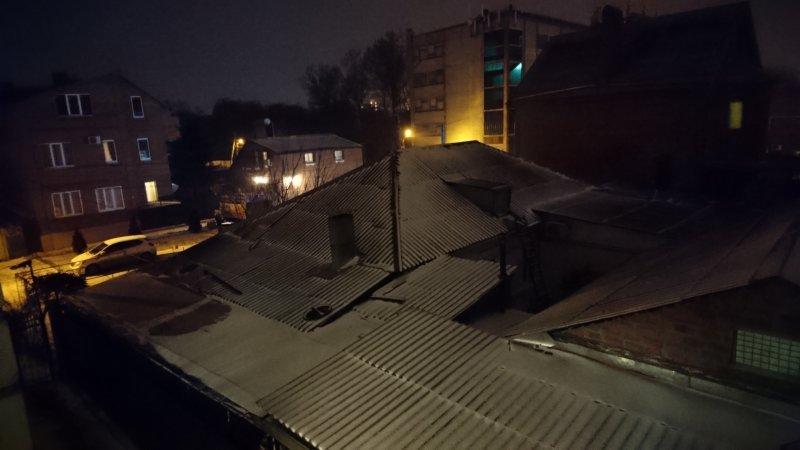 Ночное фото на Xperia X Compact