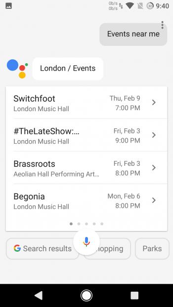 Установка Google Assistant