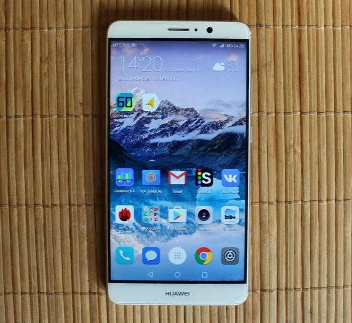 Рамка экрана Huawei Mate 9