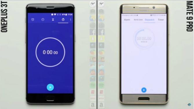 OnePlus 3T vs Huawei Mate 9