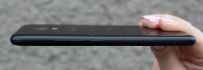 Кнопки громкости на Meizu M5