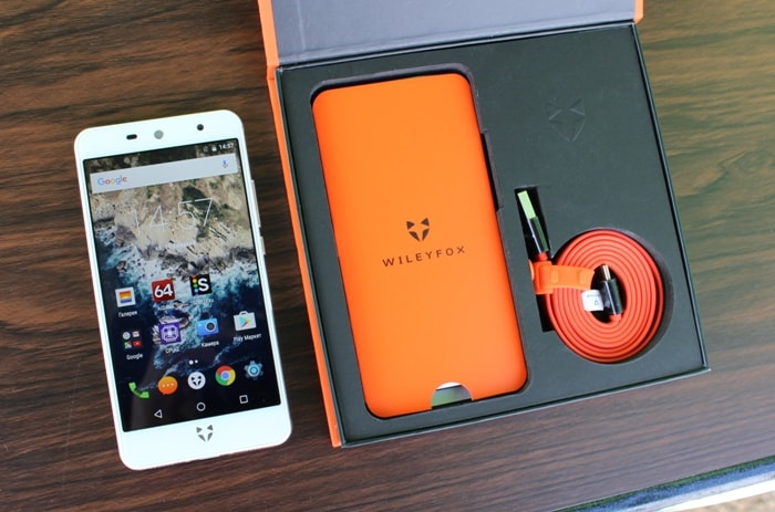 Комплектация Wileyfox Swift 2 X