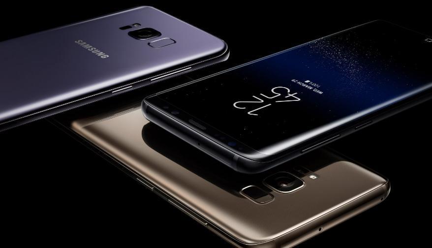 Самсунг представил новые мобильные телефоны Galaxy S8 иS8 Plus
