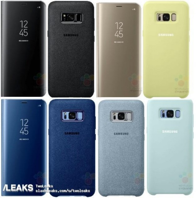 Samsung Galaxy S8 accessories