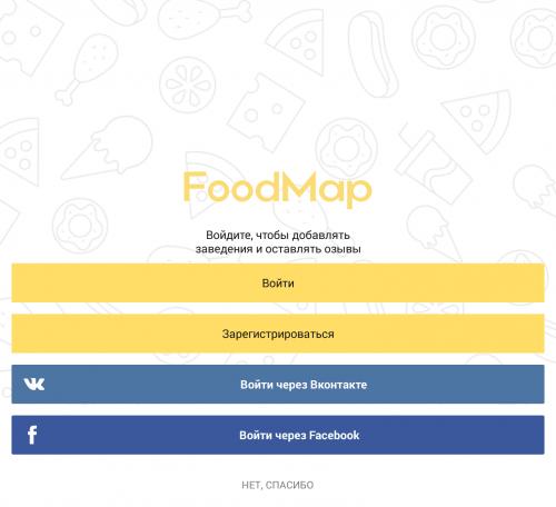 FoodMap