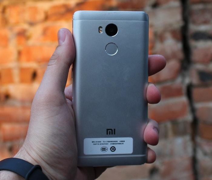 Задняя панель Xiaomi Redmi 4 Pro