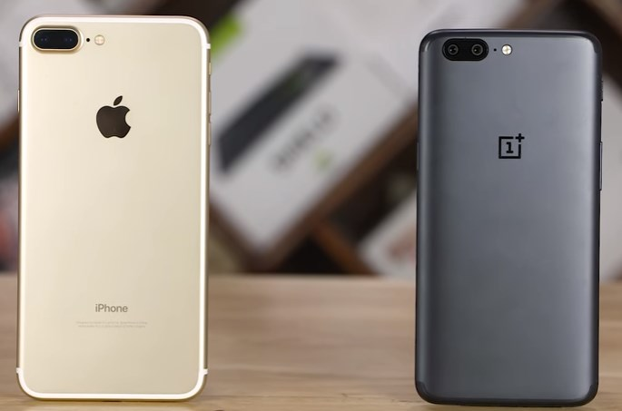 OnePlus 5 vs iPhone 7 Plus