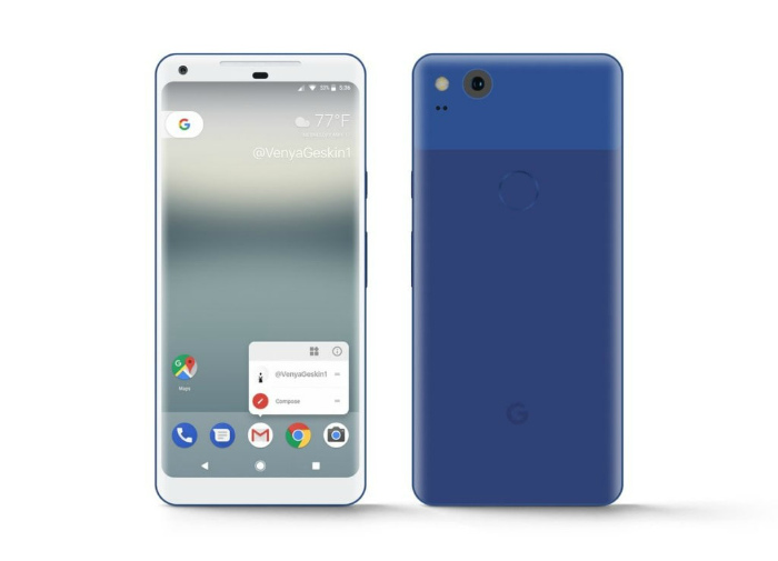 Google Pixel XL 2 Really Blue