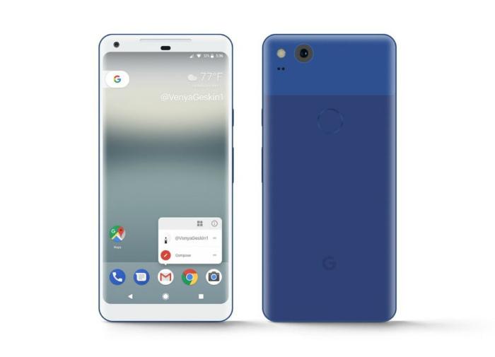 Google Pixel XL 2 Really Blue