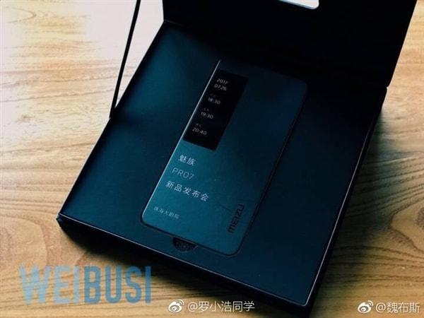 Второй экран Meizu Pro 7