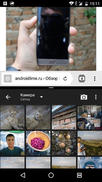 Android Nougat в BQ Vision