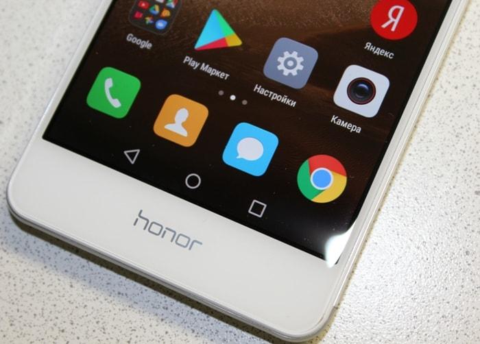 Сенсорные кнопки Honor 6C