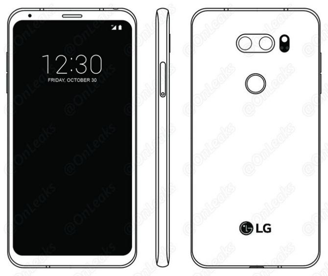 В Сети появились новые подробности о флагманском смартфоне LG V30