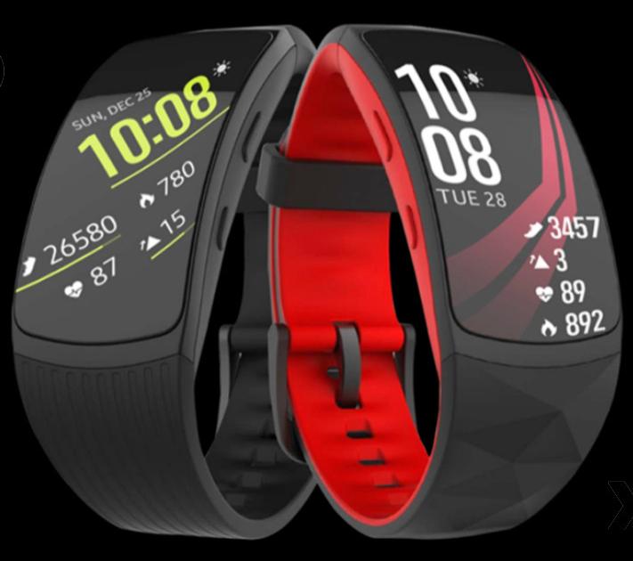 Самсунг показала фитнес-браслет Gear Fit 2 Pro