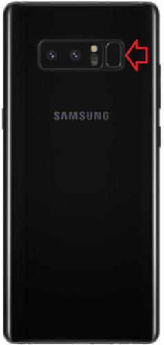 Сканер опечатка в Galaxy Note 8