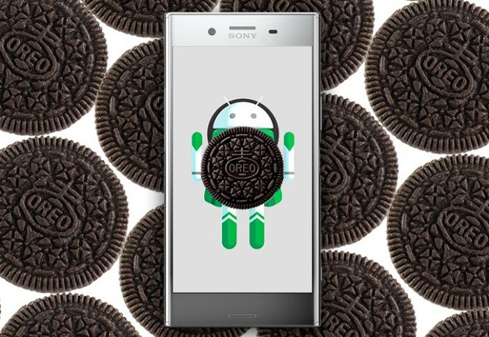 Android Oreo для смартфонов Sony