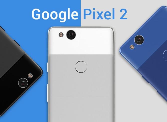 Рендер Google Pixel 2