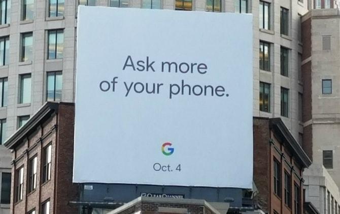 Анонс мероприятия от Google