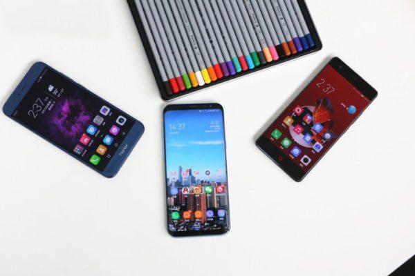 Samsung, Huawei, ZTE