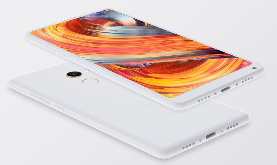 Белый Xiaomi Mi Mix 2