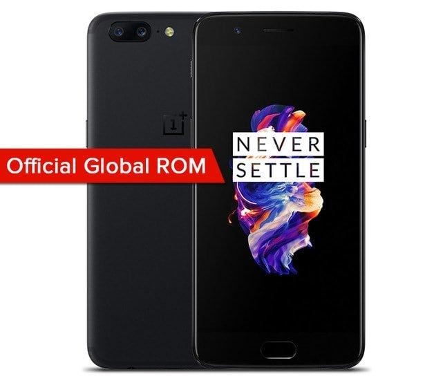OnePlus 5 с Global ROM