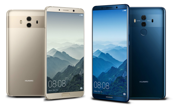 Huawei Mate 10, Huawei Mate 10 Pro