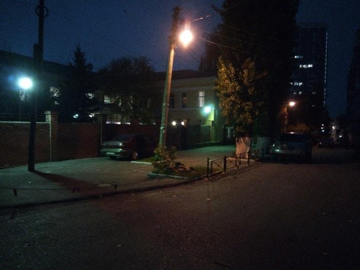 Фото ночью на Oukitel K3
