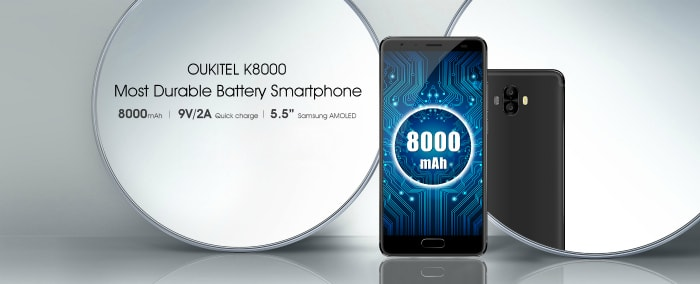 Oukitel K8000 Plus