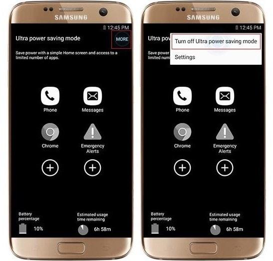 Энергосбережения на Samsung