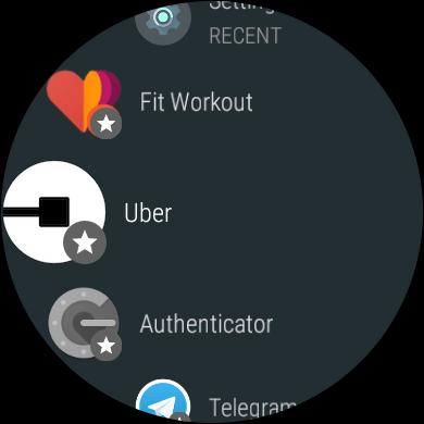 Приложения на Android Wear 2.0